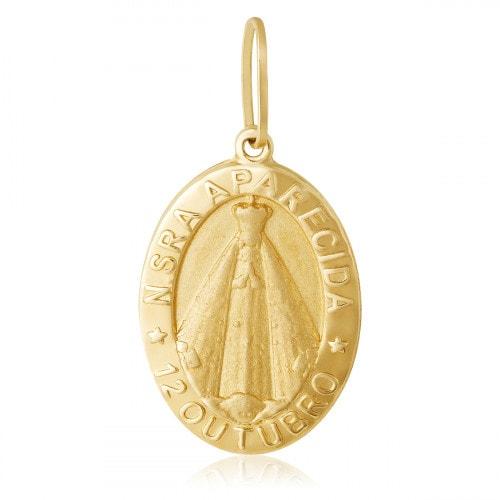 Pingente medalha Nossa Senhora Aparecida