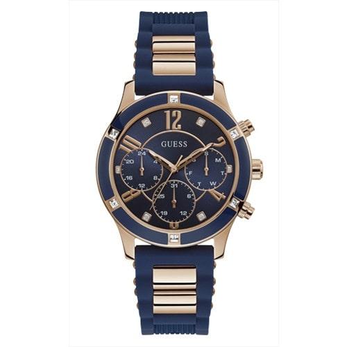 Relógio Guess feminino azul  92740LPGSRU2