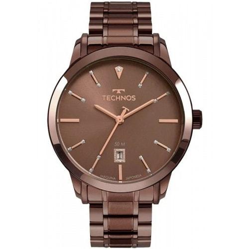 Relógio Technos Elegance Dress Feminino Marrom 2115MUW4M