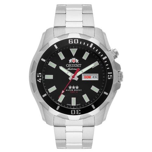 Relógio Orient Masculino Automático 469SS078 Prata