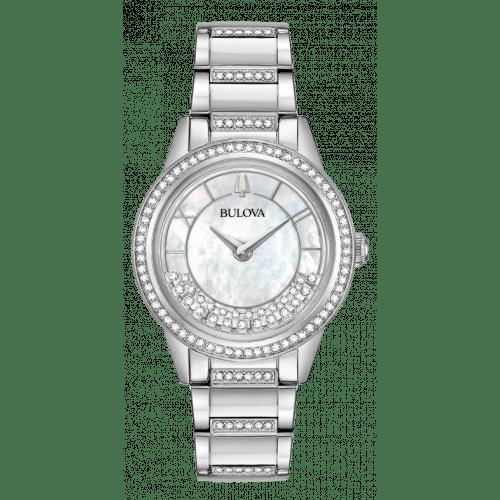Relógio Bulova Turnstyle 96L257 Crystals