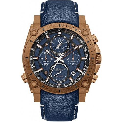 Relógio Bulova 97B186 Precisionist Pulseira em Couro