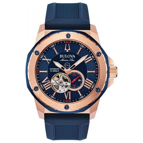Relógio Bulova Marine Star Automatic 98A227