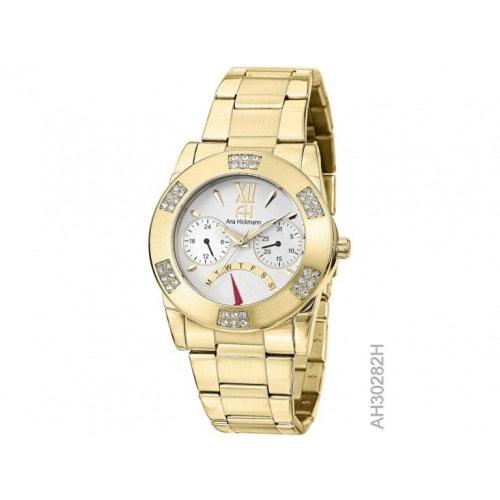 Relógio Ana Hickamann AH30282H Dourado