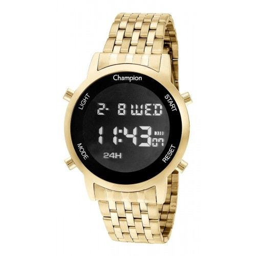 Relógio Champion Digital Dourado CH48091H