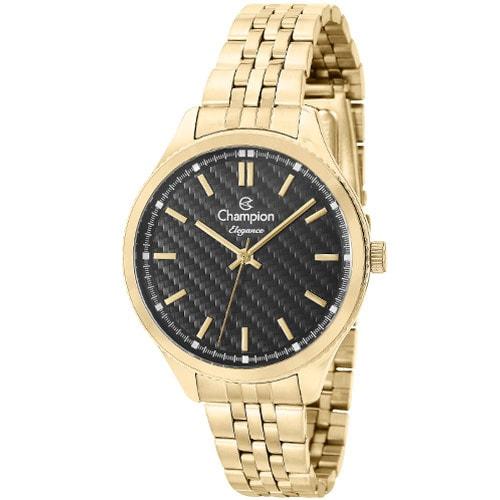Relógio Champion Dourado CN27527U