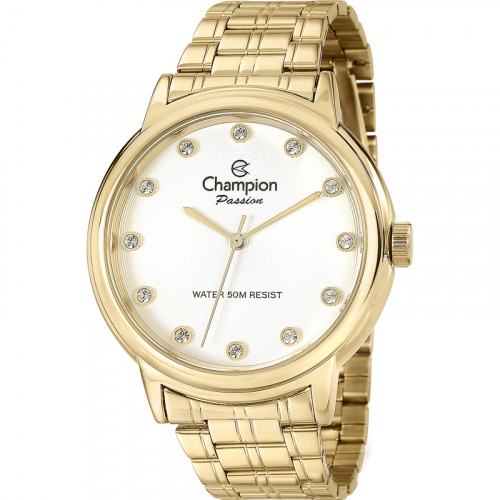 Relógio Champion Dourado CN29874H