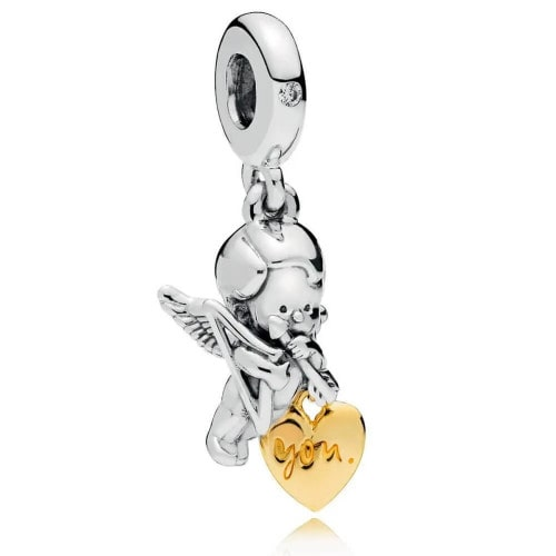 Pingente em Prata Cupido
