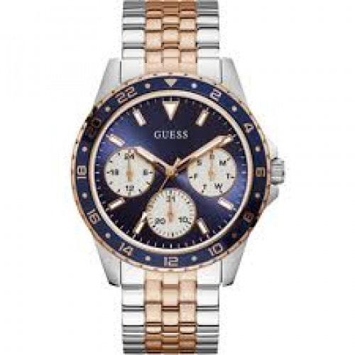 Relógio Guess pulseira mista rose 92717LPGSGA2