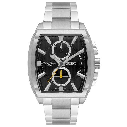 Relógio Orient Eternal Masculino Cronógrafo GBSSC010 Prata