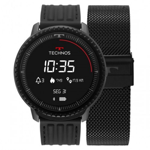Relógio Technos Connect ID Smartwatch L5AA1P