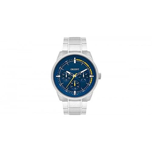 Relógio Orient Masculino Analógico  MBSSM079 Prata