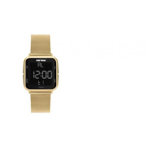 Relógio Digital Mormaii Digital Dourado MO6600AH/8D
