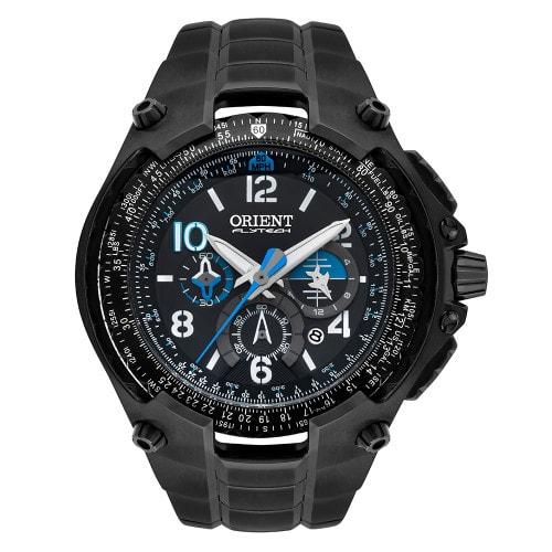 Relógio Orient Flytech Masculino Cronógrafo MPTTC001 Preto
