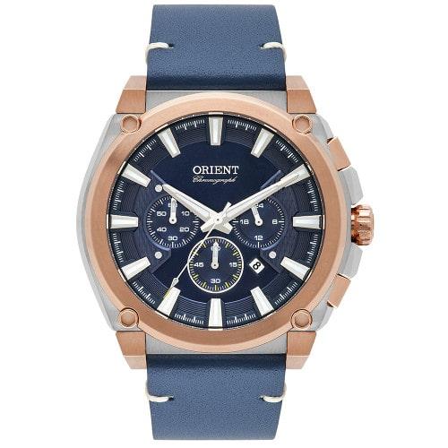 Relógio Orient Sport Masculino  Cronógrafo MTSCC040 Rosegold