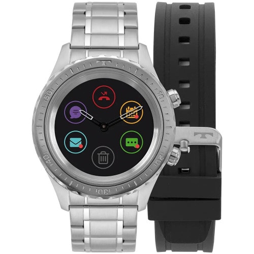 Relgio Technos Smartwatch Connect Duo Prata P01AA/1P