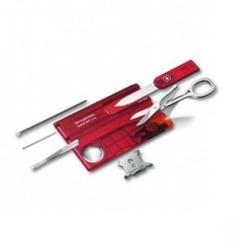 SwissCard Lite Vermelho Translúcido 0.7300.t