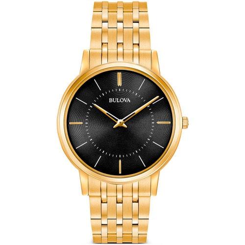 Relógio Bulova Dourado Slim WB22436U
